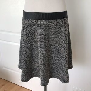 Woman's trendy chic skirt